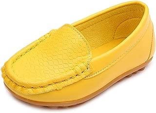 Toddler Little Kid Boys Girls Soft Slip On Loafers Dress Flat Shoes