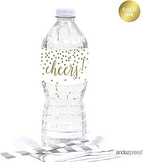 Best cheap water bottle labels wedding Reviews