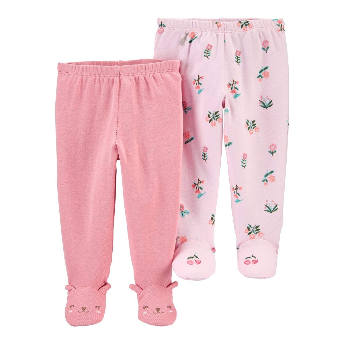 LEGGINGS  SIZE 3,6,9,12 MO baby clothe NWT CARTER/'S 2 PACK BABY GIRL SOFT PANTS
