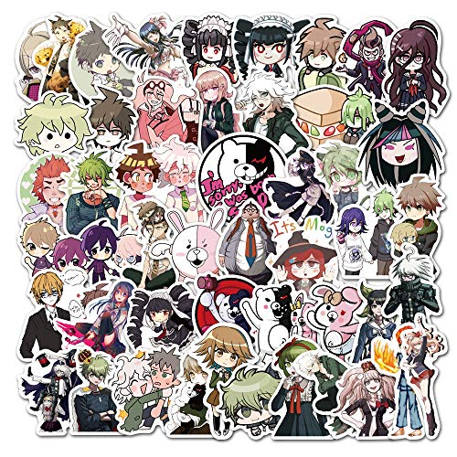 WWLL 50 New Anime Electric Car Mobile Phone Shell Scooter Luggage Laptop Stickers