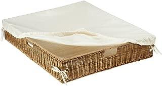 Best under bed wicker storage baskets Reviews