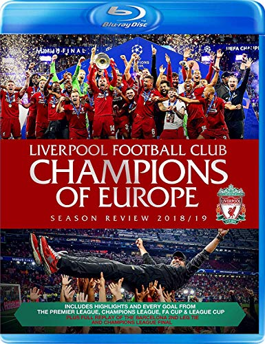 Liverpool Football Club Champions of Europe Season Review 2018/19 [Blu-ray]