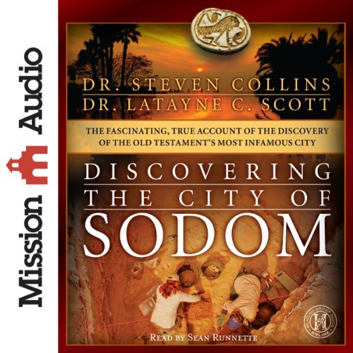 Discovering the City of Sodom audiobook cover art