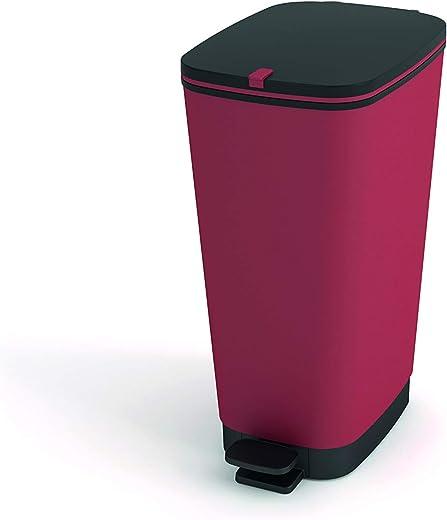 Kis Chic bin Colours Abfallbehälter 45L mit Pedal, paprika