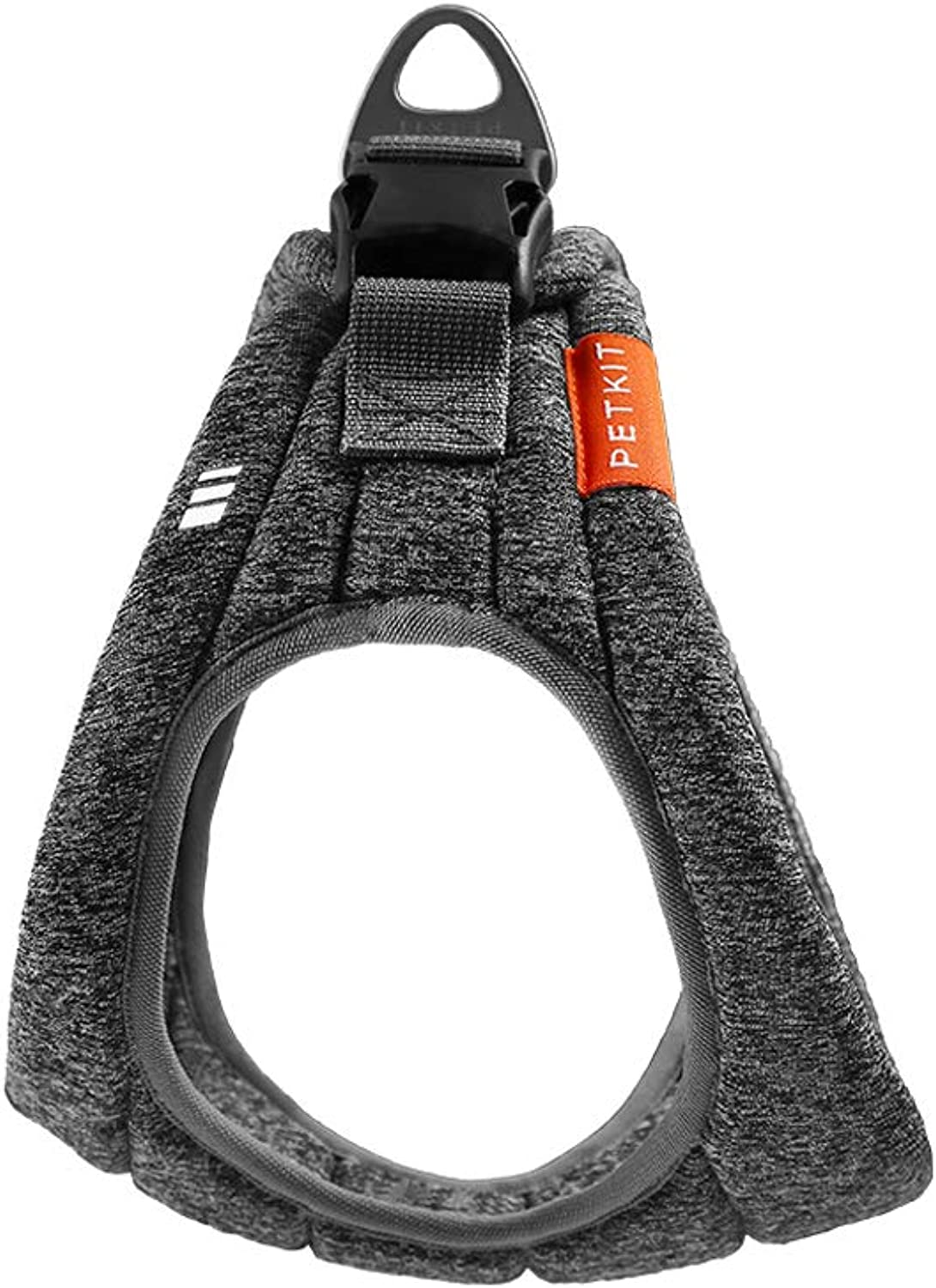 3M Reflective Pets Small Dogs Puppy Cats Vest Harness Chest Adjustable Front And Anti Back Range Leading With Handle Soft Padded Breathable Mesh Waterproof Safety Double Metal Zincalloy D Ring For Ou