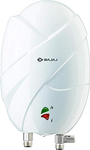Bajaj Flora Instant 3 Litre Vertical Water Heater, 3KW, White
