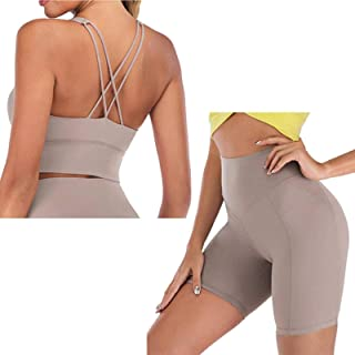 Naked- Feel Yoga Set Yoga Leggings Set Women Fitness Suit for Yoga Clothes High Waist Gym Workout Sportswear Gym Sports Cl...
