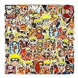STKCST Anime Dibujos Animados Naruto Graffiti DIY Paquete de Pegatinas Cuaderno Creativo Pegatina decoración Equipaje Pegatina Coche Impermeable Colorido Lindo Vinilo estético Pegatina Personalizada