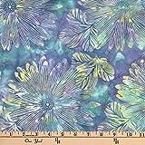 Hoffman 0668232 Bali Batik Big Tropical Sea Urchin Fabric