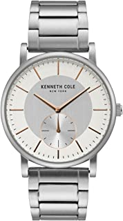 Kenneth Cole Womens Quartz Watch, Analog Display and Stainless Steel Strap KC50066002