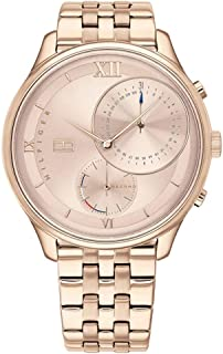 Tommy Hilfiger Womens Quartz Watch, Chronograph Display and Stainless Steel Strap 1782134