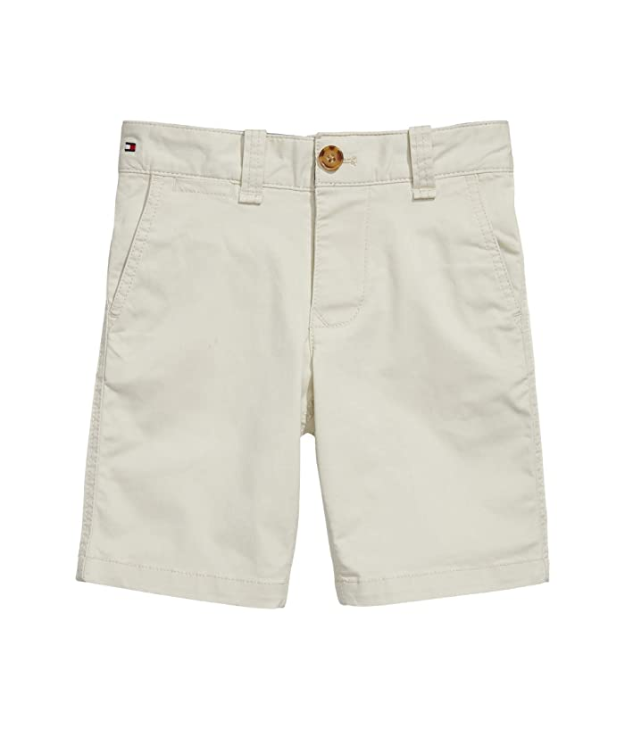 Tommy Hilfiger Adaptive  Solid Short (Toddler/Little Kids/Big Kids) (Sand Khaki) Mens Shorts