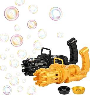 XJSGS Gatling Bubble Machine,2021 Cool Toys Gift Mini...