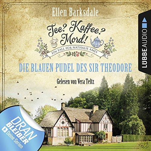 Die blauen Pudel des Sir Theodore audiobook cover art