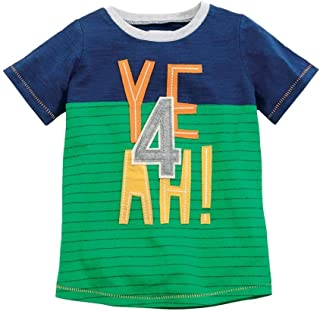 Mud Pie Baby Boy's Yeah T-Shirt (Toddler)