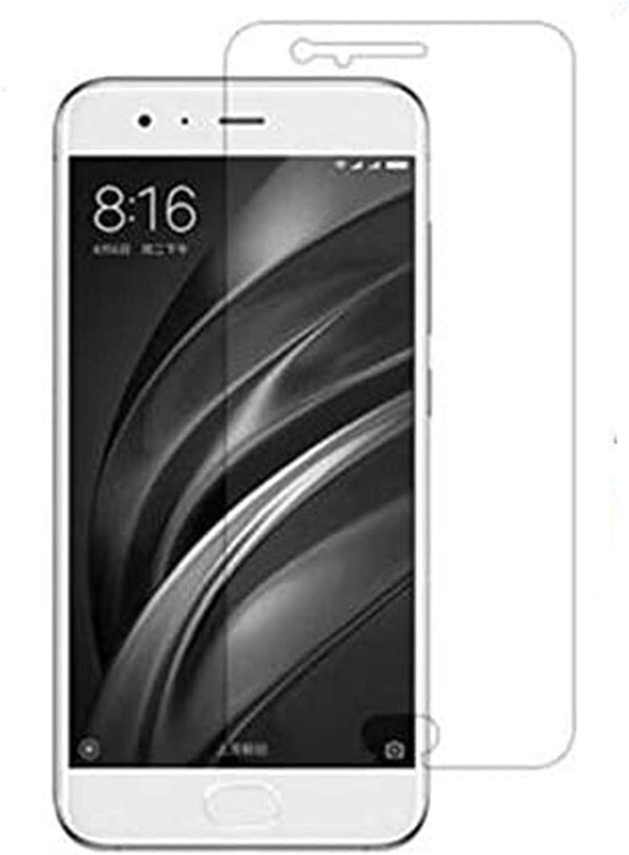 Protector de Pantalla para Xiaomi Mi 6 Mi6 Cristal Vidrio Templado,Espesor 0,30 mm,2.5D Round Edge,[9H Dureza] [Alta Transparencia] [Sin Burbujas] (2 Protectores)