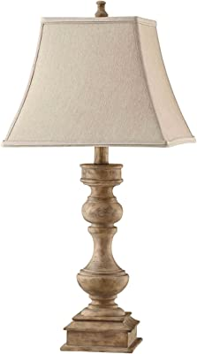 Stein World 90015 Faux-Wood Table Lamp