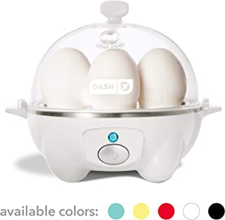 Dash Rapid Egg Cooker: 6 Egg Capacity Electric Egg Cooker for Hard Boiled Eggs, Poached..