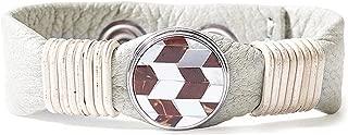 Noosa Unisex Wabi Sabi bracelet harmony - light grey