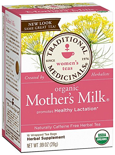Traditional Medicinals, Organic Mother's Milk, Caffeine Free, 16 Wrapped...