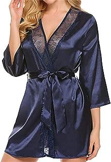 DIOMOR Women Sexy Lingerie Sleepwear Lace Dress Underwear Briefs Perspective Valentine's Day Present Gift