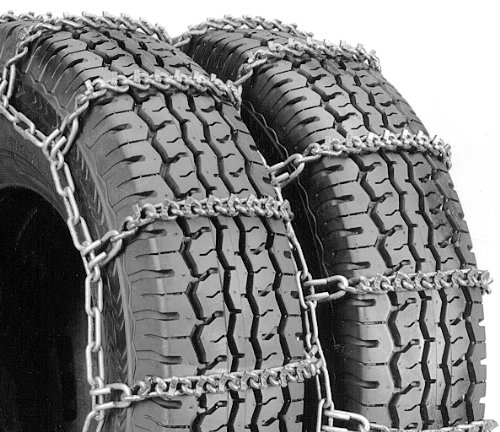 Security Chain Company QG4819 Quik Grip V-Bar Type DT Light Truck Dual and Triple Tire Traction Chain - Set of 2