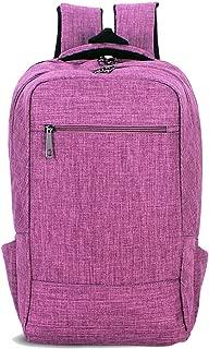 Fashion Oxford Leisure Travel Backpack Men's and Women's Fashion New Neutral (Color : Purple, Size : 43cm*28cm*12cm)