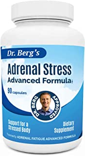 Adrenal Day Formula - Reduce Stress, Promote Calmness And Fight Fatigue - All Natural Vegetarian Supplements- 90 Capsules ...