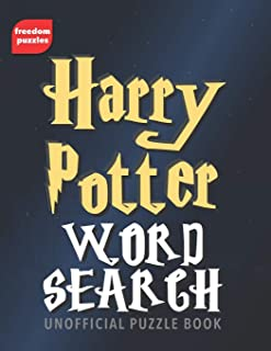 Harry Potter Word Search: Find over 1,600 words from J.K Rowling's magical books and films including Hogwarts, the characters you love, spells, actors and more in this unofficial Puzzle Book