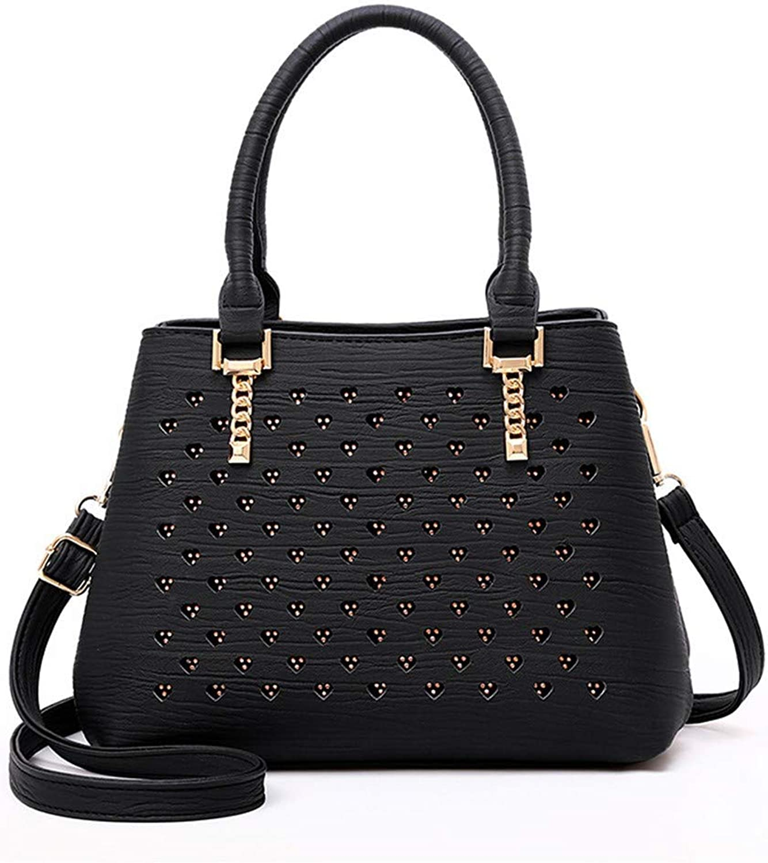 WMQQ Handtasche Dame Tasche einfache Handtasche Schulter Diagonal Diagonal Diagonal durchbohrt Damen Handtasche Handtasche B07KFC5ZRR  Abrechnungspreis 9e7d4e