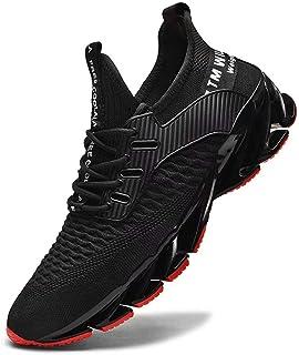 FUSHITON Chaussures de Sport Hommes Basket Running Compétition Training Fitness Tennis Athlétique Sneakers Femme