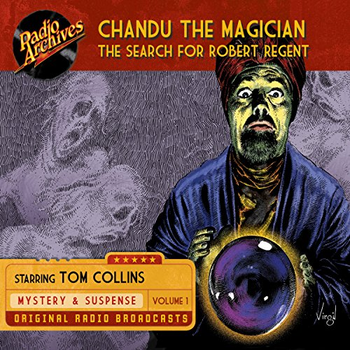 Chandu the Magician, Volume 1 Titelbild