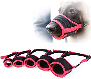 Goolsky DODOPET Dog Pet Muzzle Dog Muzzle Mouth Cover Muzzle Guard for Dogs Prevent Biting Barking