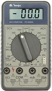 Multímetro Digital 20MOHMS 20A ET-2030A Minipa