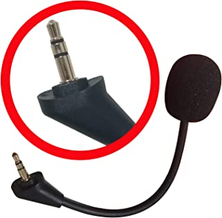 Mic Replacement Game Microphone Boom 3.5mm for Kingston HyperX Cloud Alpha for PS4 Xbox One Nintendo Switch Computer PC Gaming Headsets