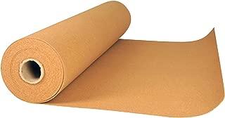 acerto24 - Rollo de lámina de corcho para colocación bajo parqué o tarima (15 m², grosor 4 mm)