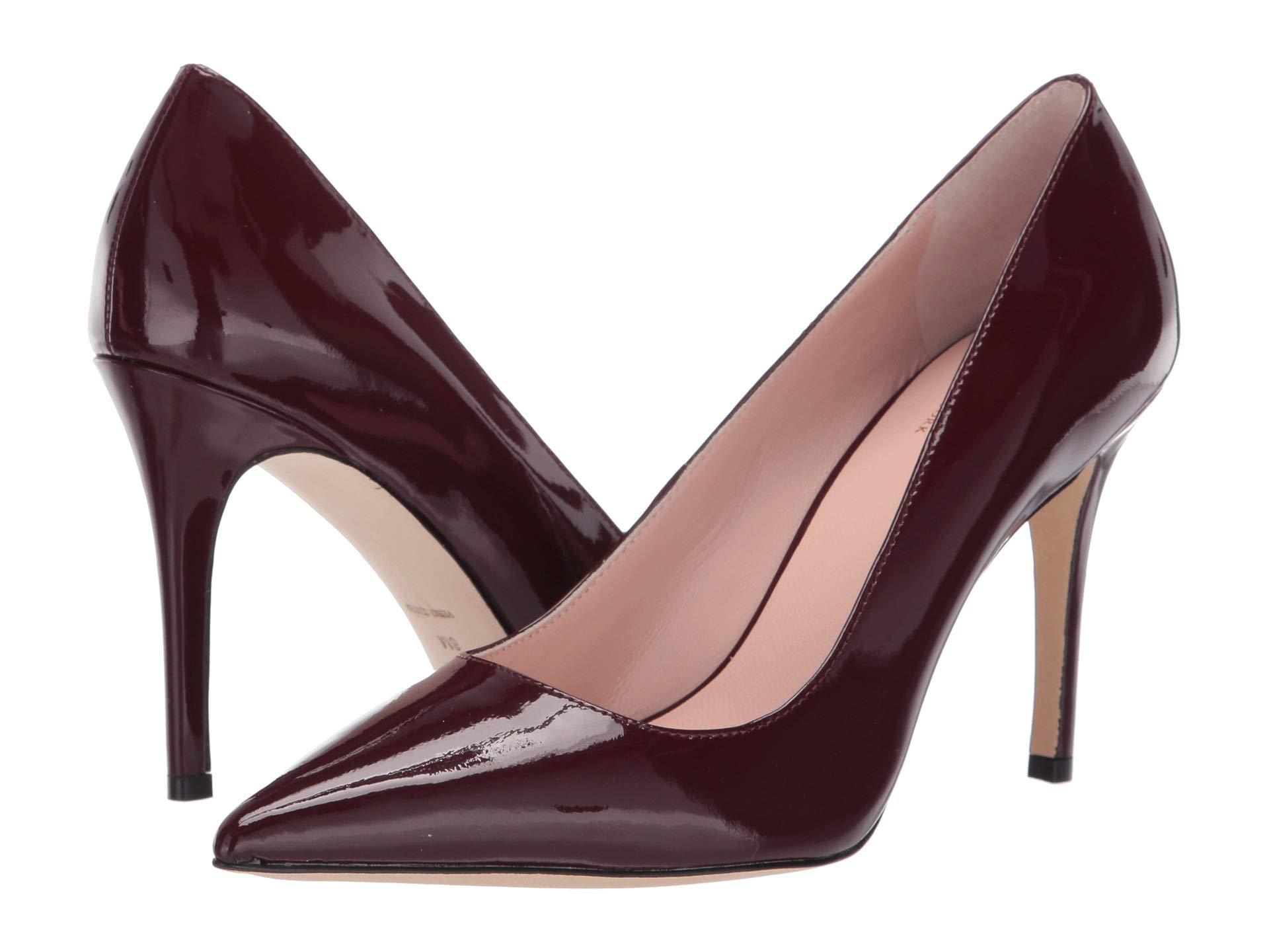Vivian Spade Kate Deep Cherry Patent York New xdt0WHwAq0