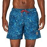 Napapijri Vail 3 Pantalones Cortos, Multicolor (Blue Coral Fo9 Fo91), S para Hombre