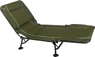 Timber Ridge Juniper Heavy Duty Quickset Adjustable Folding Camp Cot, Green