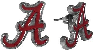 NCAA Alabama Crimson Tide Stud Earrings