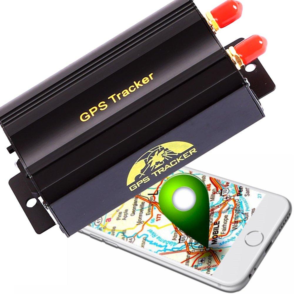 Afterpartz Ovo-103A - Localizador GPS profesional, para coche, motocicleta, antirrobo, para vigilancia, GSM, GPRS, Google, rastreador, envía mensaje de texto, con aplicación móvil: Amazon.es: Coche y moto