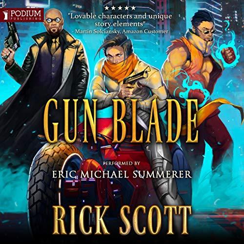 Page de couverture de Gun Blade
