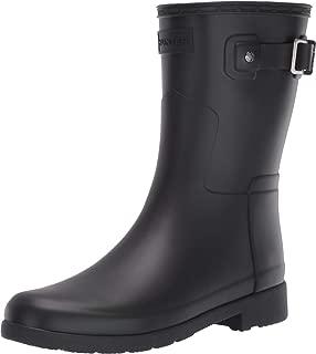 Womens Hunter Original Refined Short Wellingtons Snow Rain Winter Boots