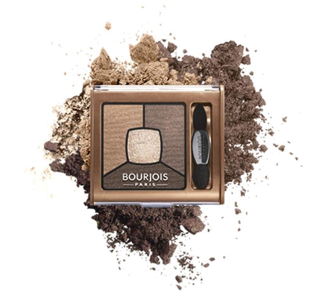 スリムバリアに勝るBourjois Quad Smoky Stories Eyeshadow Upside Brown - ブルジョワクワッドスモーキー物語は逆さま茶色のアイシャドウ [並行輸入品]