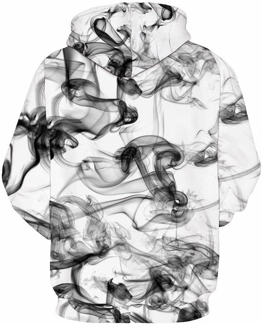 Sixyotie Unisex Felpe con Cappuccio Cool Hoodie 3D Stampato novit/à Felpa Maglietta Pullover Manica Lunga con Coulisse Tasche