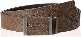 حزام بلاكيت لا لوغو للرجال من جيس جينز، مقاس S بني S