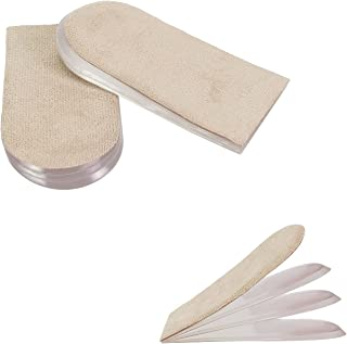 Sponsored Ad - Antdvao Gel Shoe Lifts, Heel Lift Insert, Used for Leg Length Differences, Heel Pain, Sports Injuries , Bre...