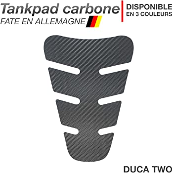 Motoking Tankpad Carbone Goatee r/éservoir de la Moto et de la Protection de la Peinture Disponible en 3 Couleurs Anthracite Universel