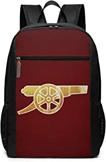 School Backpack Arsenal FC The Gunners Business Travel Laptop Backpack for Women and Men, College Computer Bag Fits in Laptop