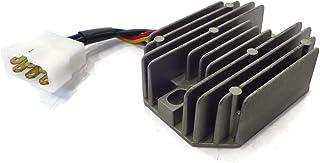 LICHONGUI Rectificador regulador de Voltaje de 12V 6 Pin para Kubota Grasshopper RS5101 RS5155